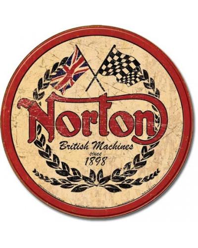 Cedule Norton - Logo Round