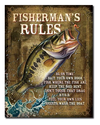 Cedule JQ - Fisherman's Rules