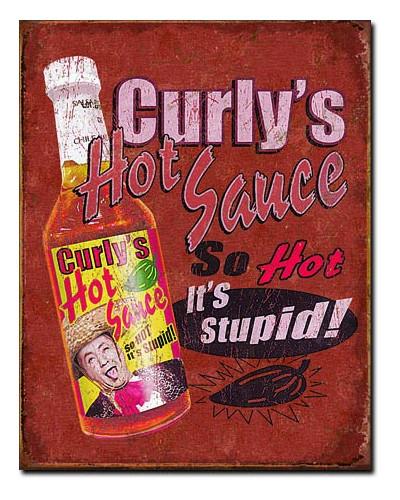 cedule Curlys Hot Sauce