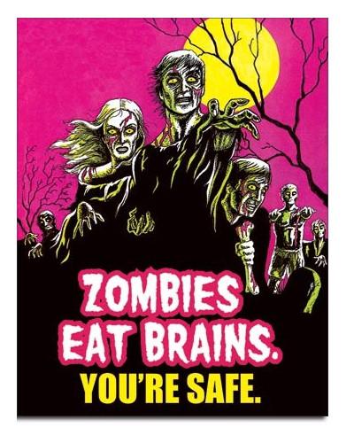 cedule Zombies Eat Brains