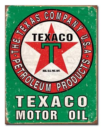 cedule Texaco Oil Weathered