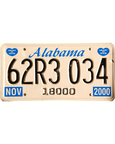 Alabama Blue Heart