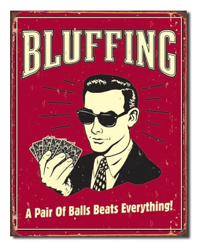 Cedule Bluffing - Pair of Balls