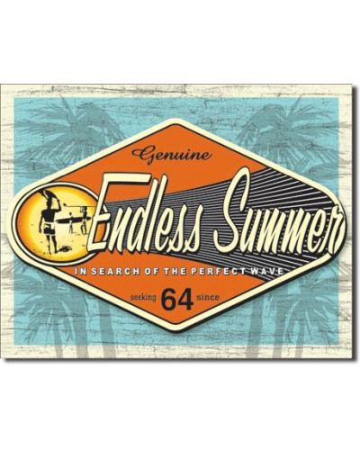 Plechová cedule Endless Summer - Genuine