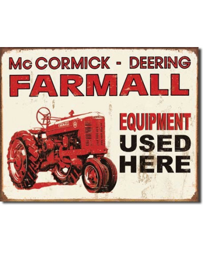 Cedule Farmall - Equip Used Here