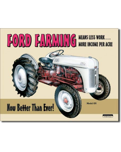 Cedule Ford Farming 8N