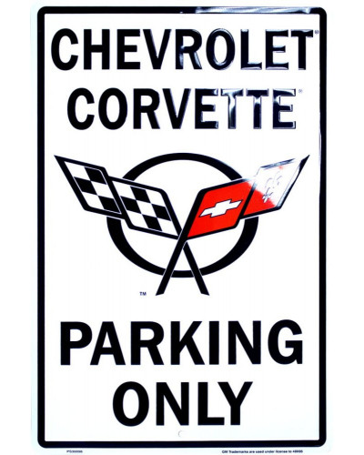 Cedule Chevrolet Corvette Parking