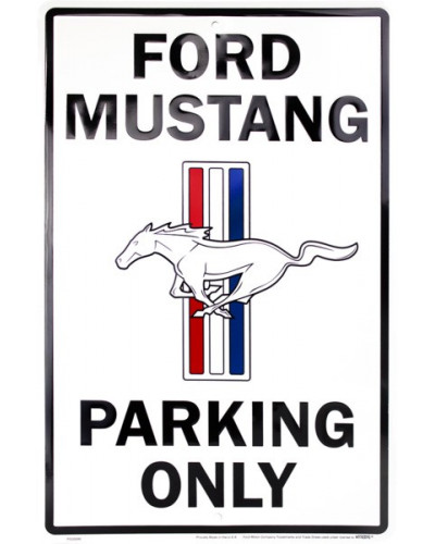 Cedule Ford Mustang Parking
