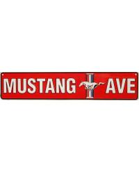 Plechová cedule Ford Mustang Avenue 60 cm x 13 cm