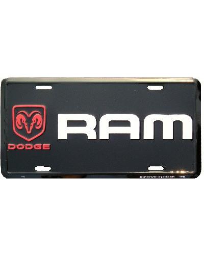 Americká SPZ Dodge RAM