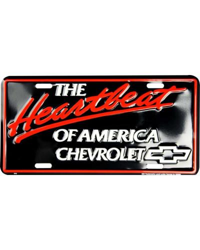 Americká SPZ Chevrolet Heartbeat