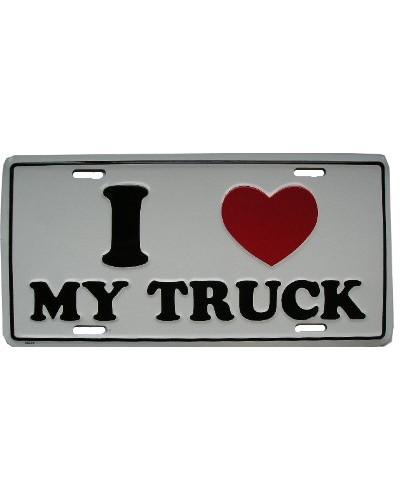 Americká SPZ I love My Truck