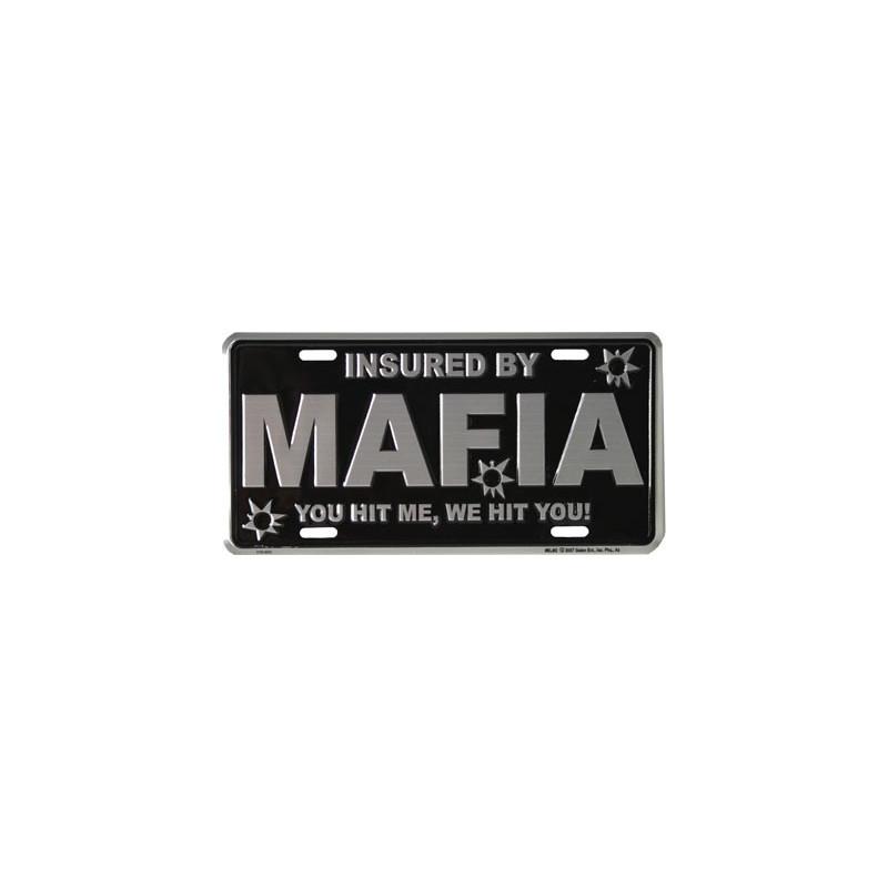 Americká SPZ Mafia 15 cm x 30 cm