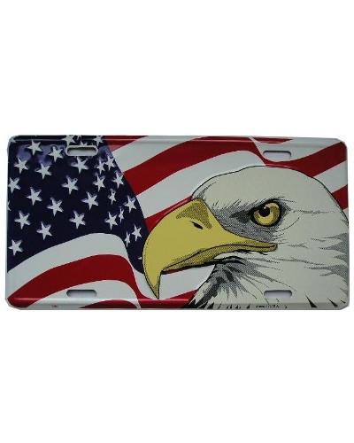 Americká SPZ US Flag Eagle