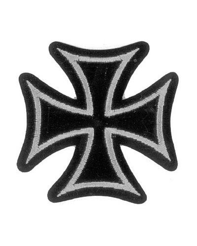 Moto nášivka Kříž 15 cm x 15 cm