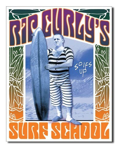 cedule Rip Curly´s Surf School