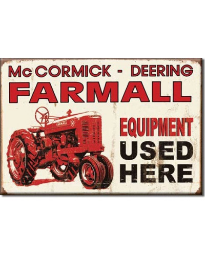 Magnet Farmall equipment