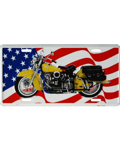 SPZ Indian moto US flag
