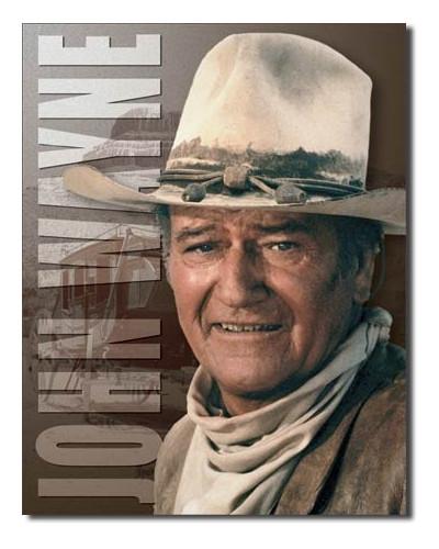 Plechová cedule John Wayne - Stagecoach 40 cm x 32 cm