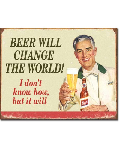 Cedule Ephemera Beer Change the World