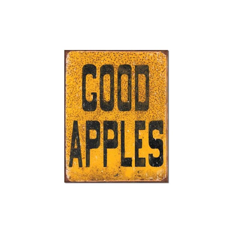 Plechová cedule Good Apples 40 cm x 32 cm