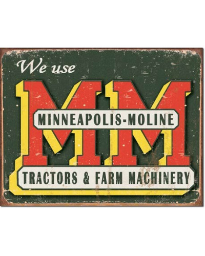Plechová cedule Minneapolis...