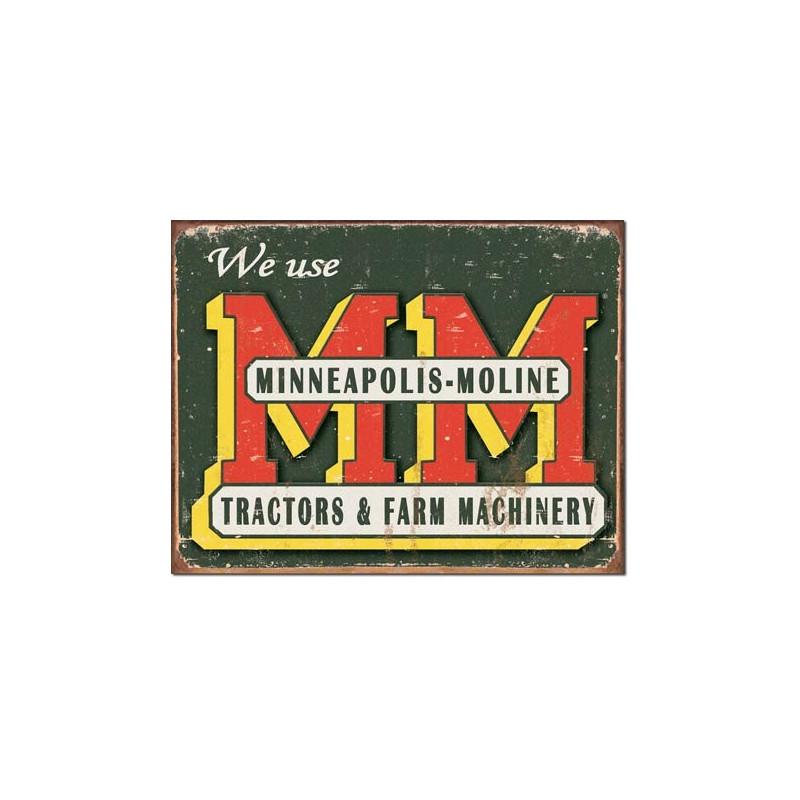 Plechová cedule Minneapolis Moline 42 cm x 30 cm