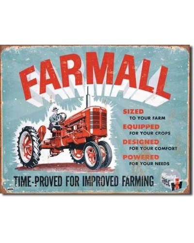 Plechová cedule Farmall -...