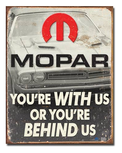 Plechová cedule MOPAR - You...