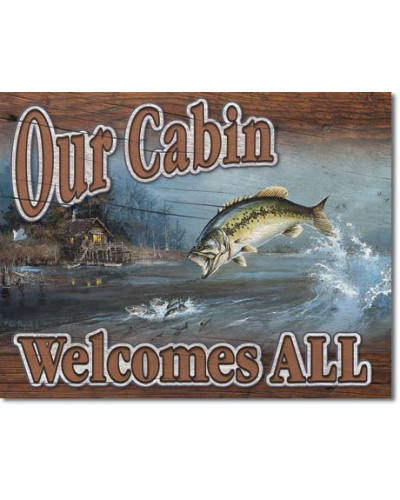 cedule Our Cabin Welcomes All