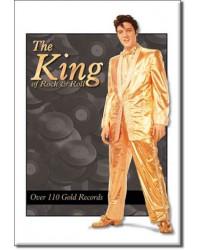Magnet Elvis Gold Lame Suit
