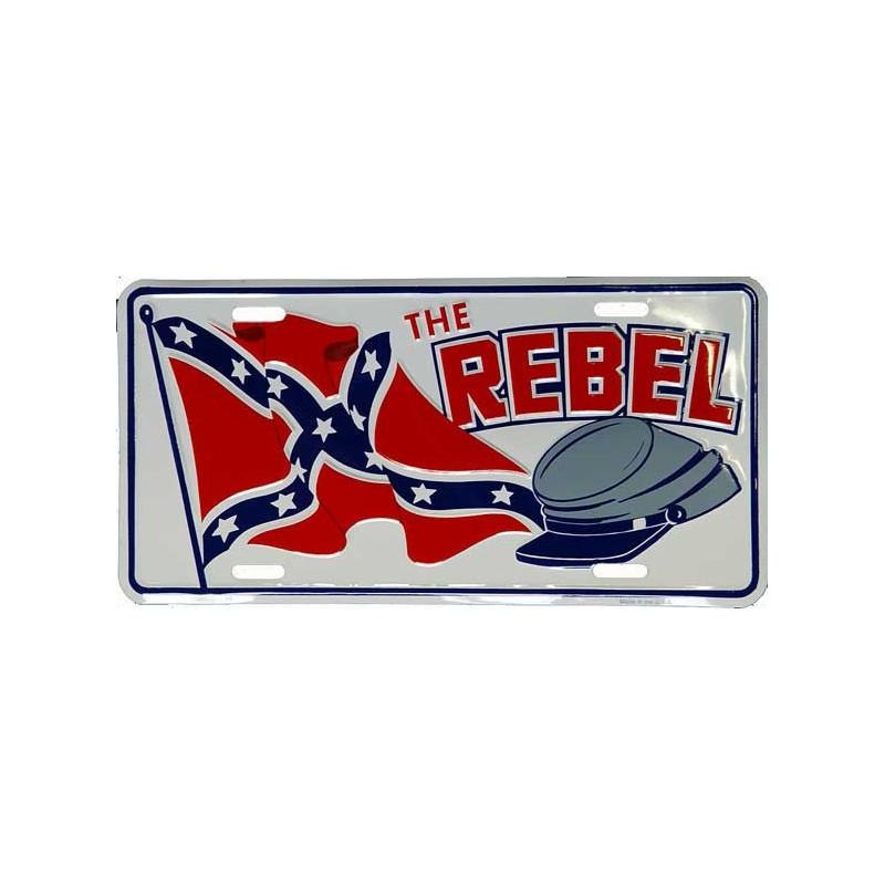 Americká SPZ Rebel Cap + Flag