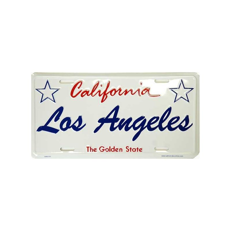 Americká SPZ Los Angeles California