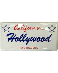 Americká SPZ Hollywood California