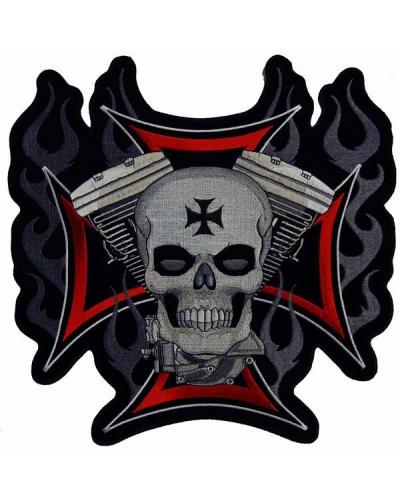 Moto nášivka BS 1 XXL na záda