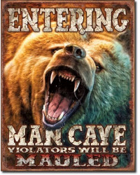 Cedule Man Cave - Grizzly