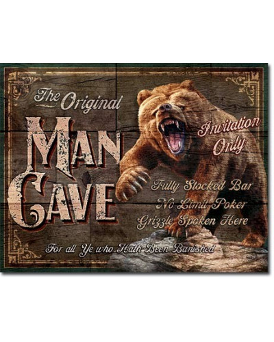 cedule Man Cave - The Original