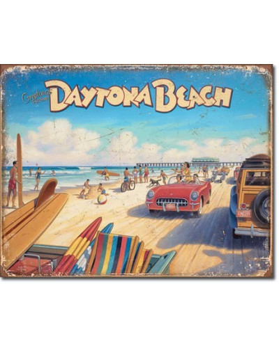 Plechová cedule Daytona...