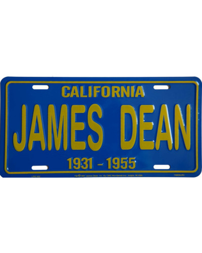 Americká SPZ James Dean California Blue
