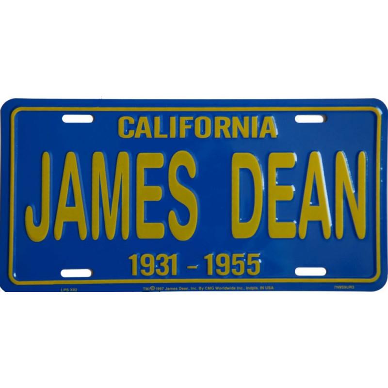 Americká SPZ James Dean California Blue