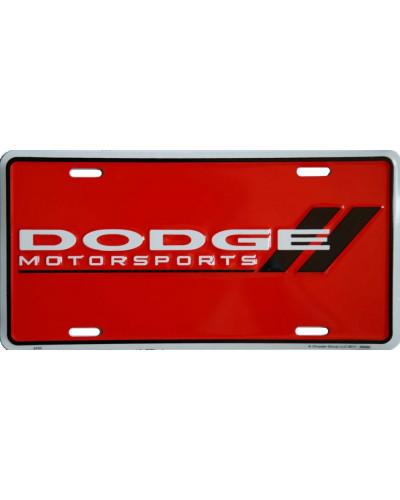 Americká SPZ Dodge Motorsports Red