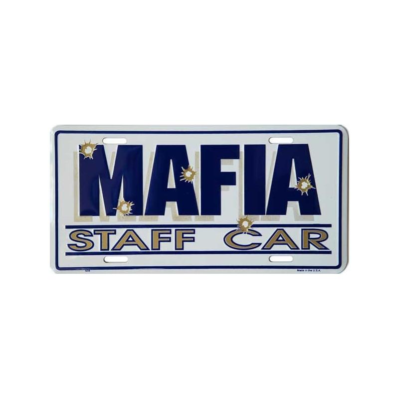 Americká SPZ Mafia Staff Car