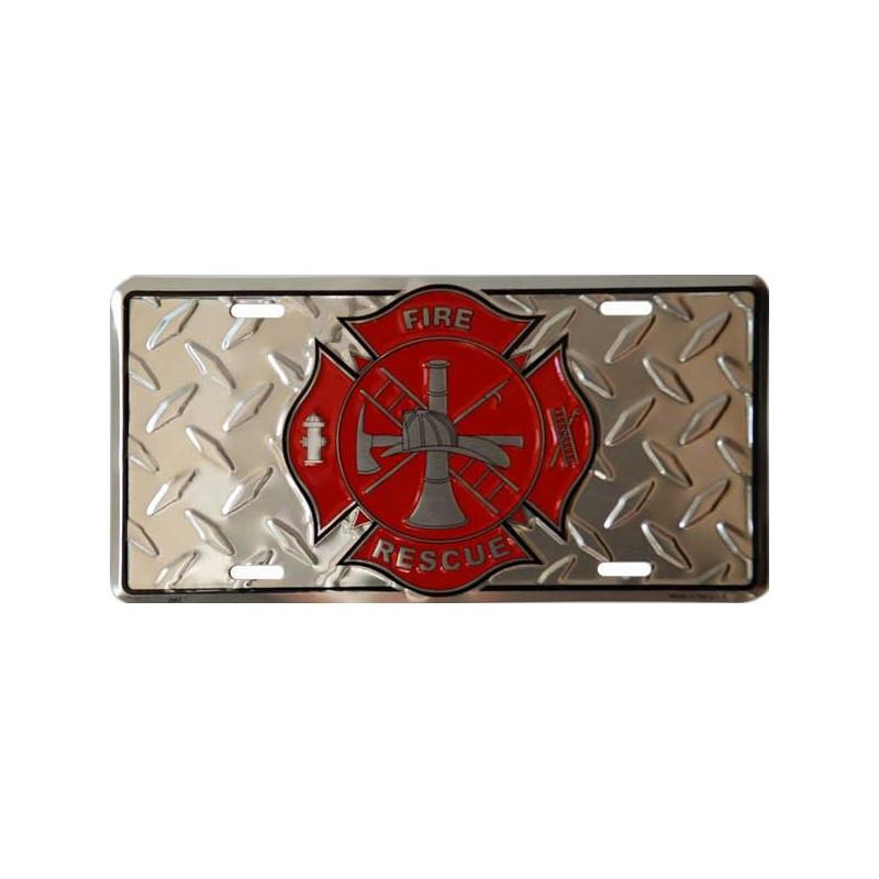 Americká SPZ Firefighter
