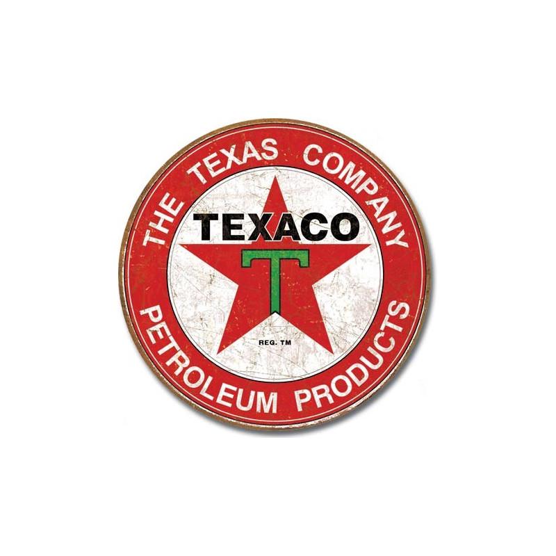 Plechová cedule Texaco - The Texas Company 30cm