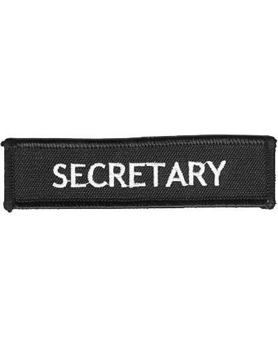 nášivka Secretary white