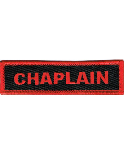 nášivka Chaplain red