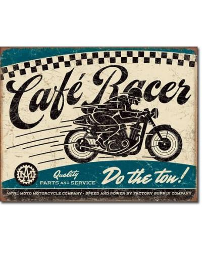 Plechová cedule Cafe Racer...