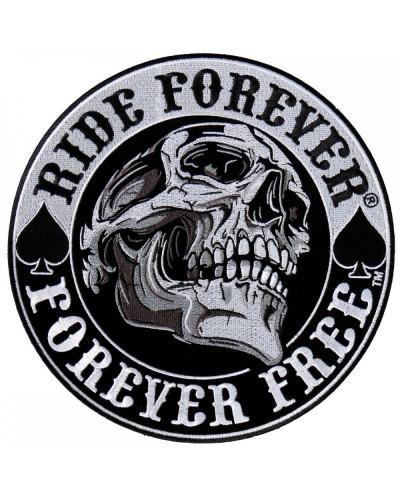 Moto nášivka BS Spade Skull XXL na záda