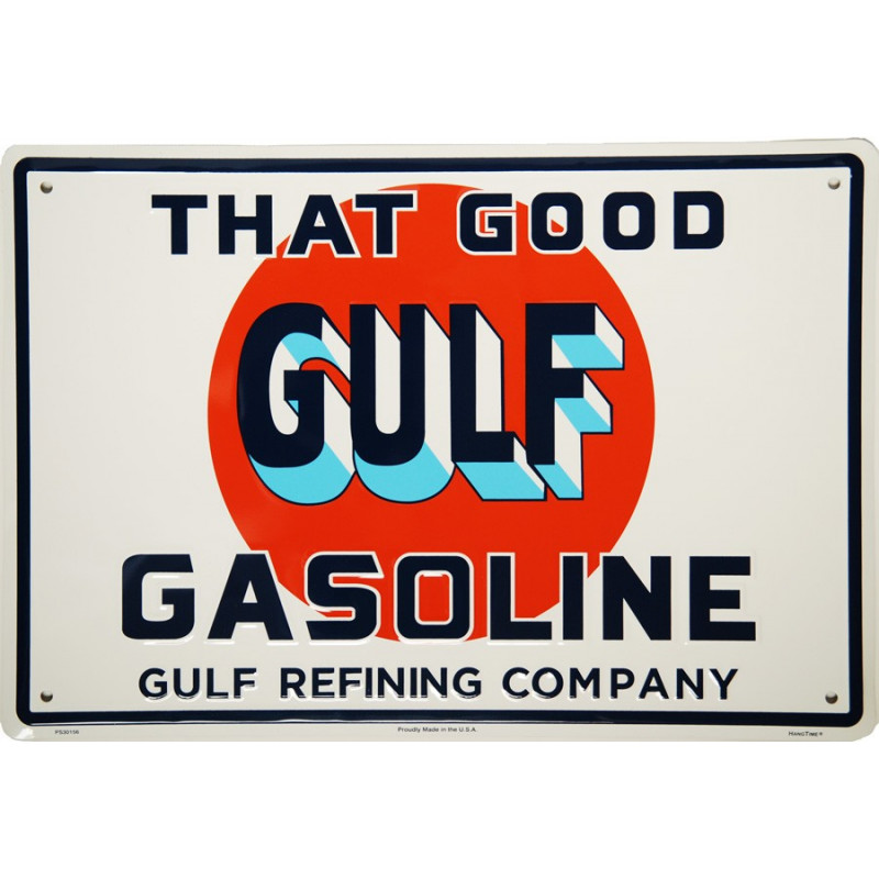 Plechová cedule Gulf That Good 45 cm x 30 cm