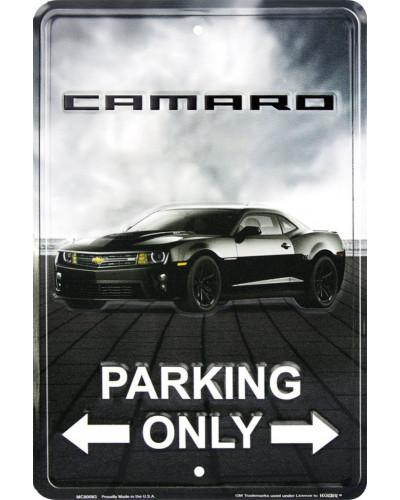 Plechová cedule Camaro Parking, 20cm x 30cm